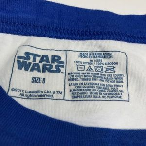 Star Wars Shirts & Tops - Star Wars R2-D2 White Graphic Tee Shirt A010466